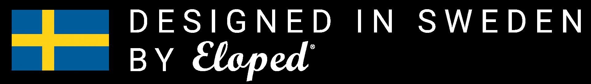 designed in sweden by eloped