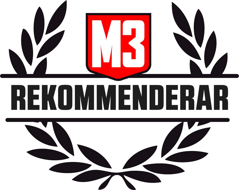 m3 rekommenderar