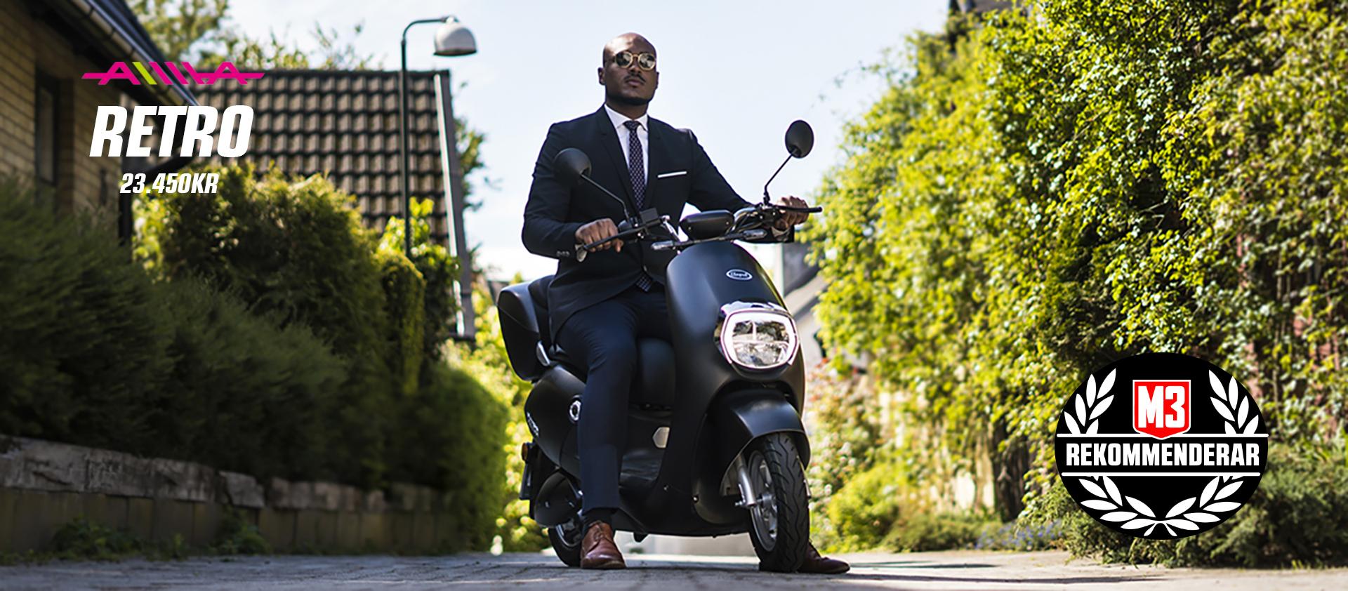 Elmoped Retro, Tillverkas av en av två största mopedtillverkarna